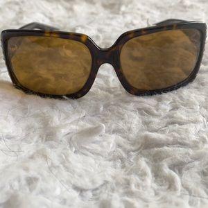 RALPH LAUREN tortoise shell print sunglasses
